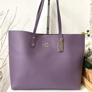 Coach Town Tote Dusty Lavender 72673